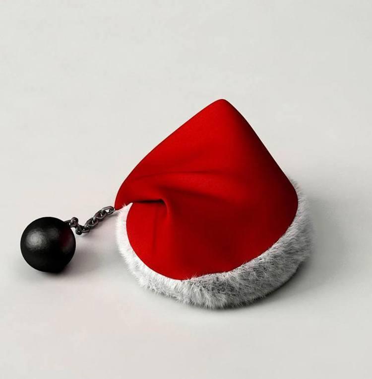 Useless Products Santa Hat