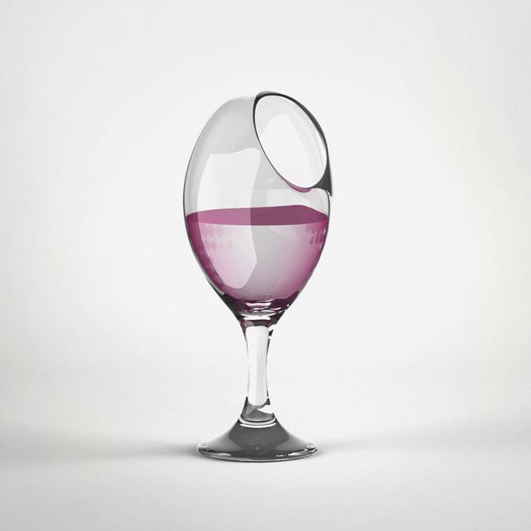 Useless Products Wine Glass