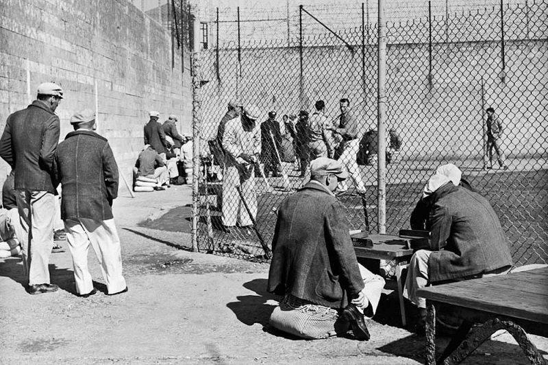 Vintage Alcatraz Prison
