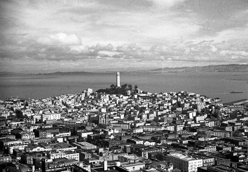 Black and White San Francisco
