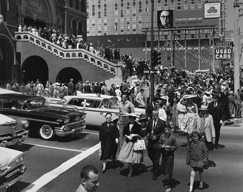 San Francisco 1960 Easter