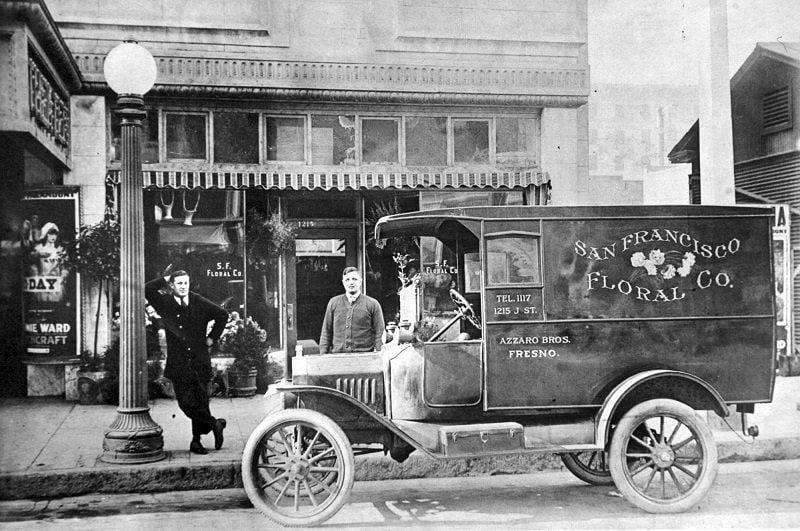 San Francisco Floral 1913