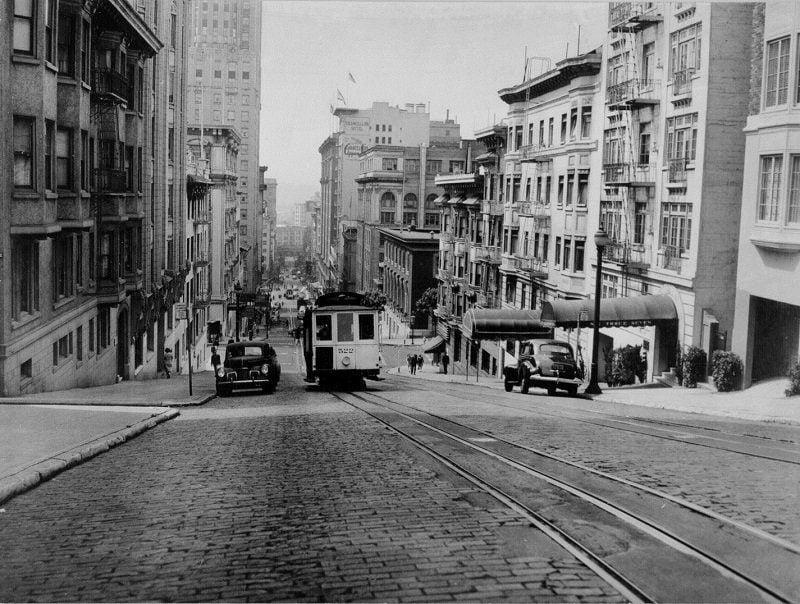 Vintage San Francisco Trolley
