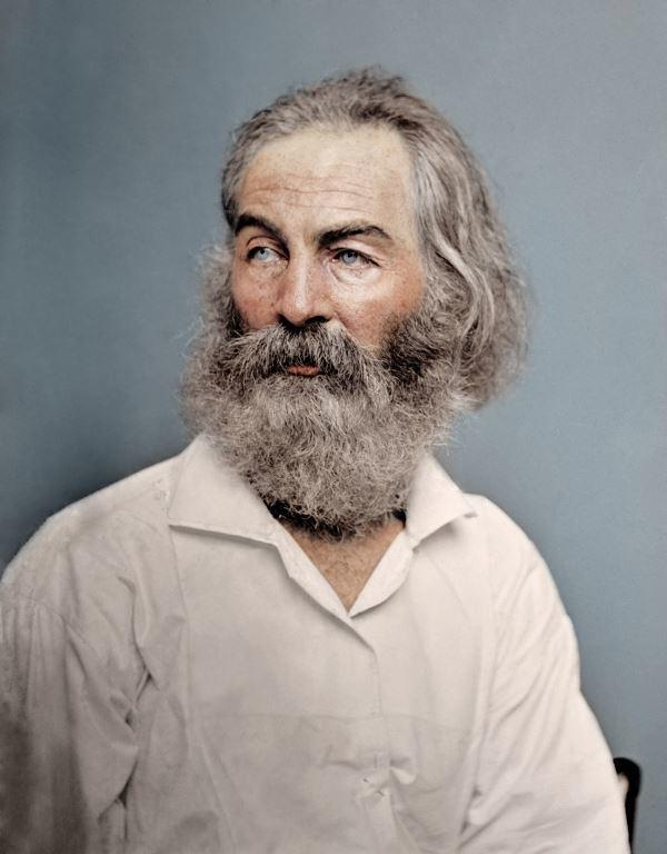 Walt Whitman In 1868