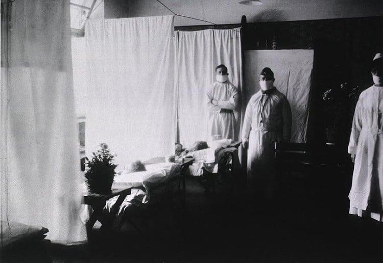 1918 Flu Pandemic Doctors