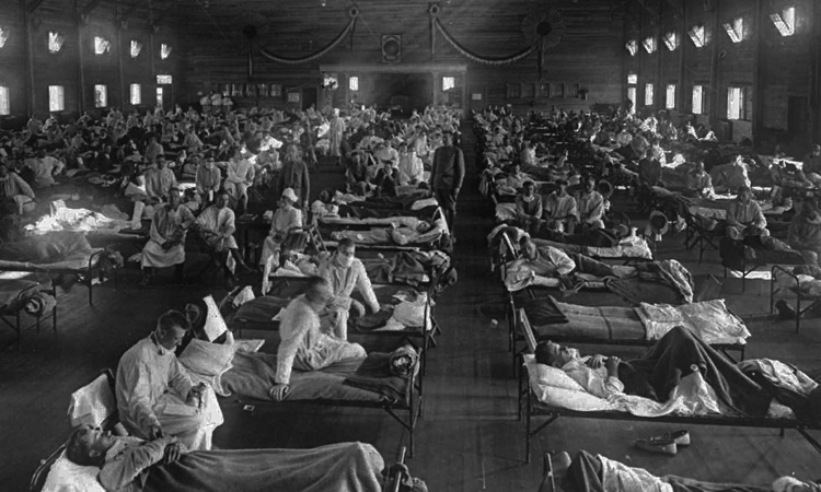 1918 Flu Pandemic Sickness