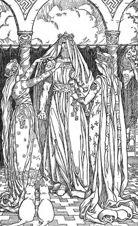 norse mythology crossdressing thor and loki
