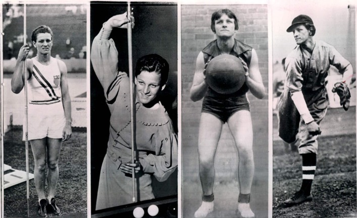 Female Athletes Didrikson Zaharias