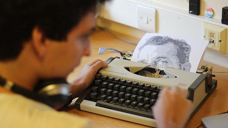 Typewriter Portraits WIP