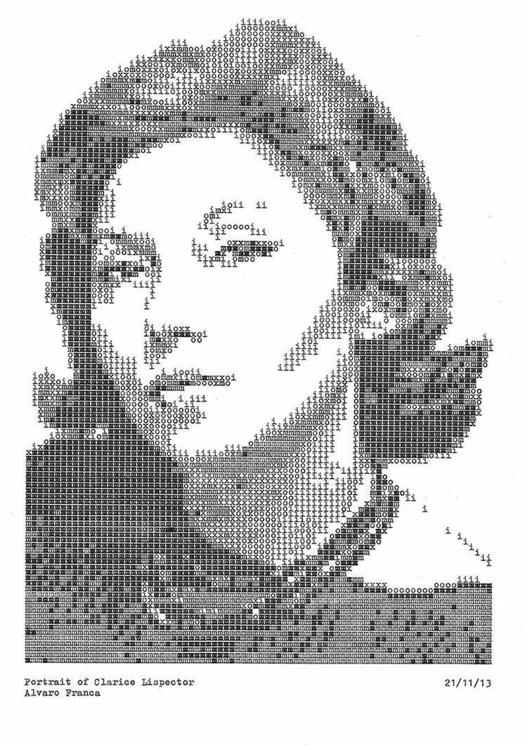 Typewriter Portraits Lispector
