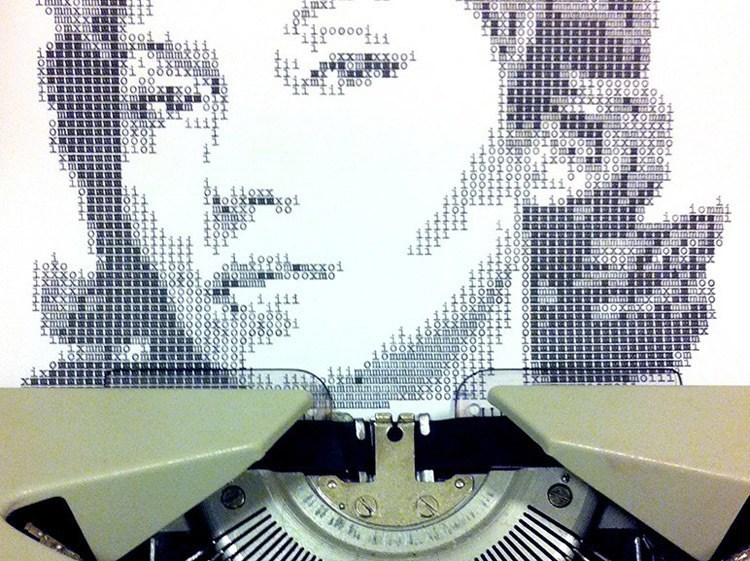 Typewriter Portraits Lispector WIP