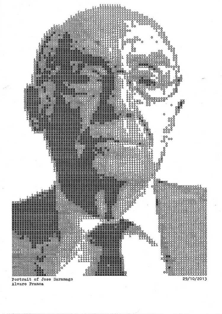Typewriter Portraits Finished