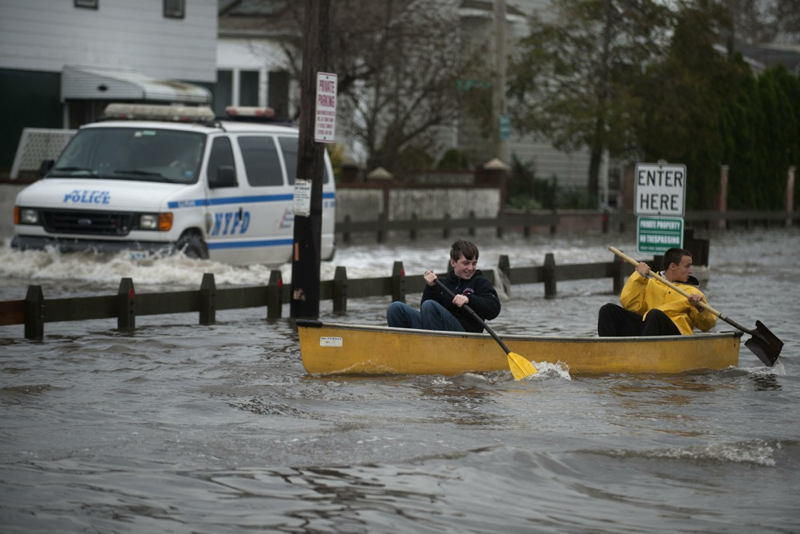 Hurricane Sandy Canoes