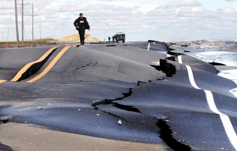 Hurricane Sandy Road