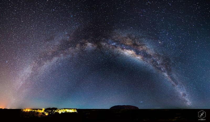 Milky Way Uluru