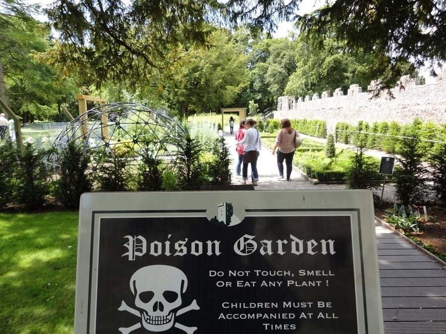 Poison Garden Warning