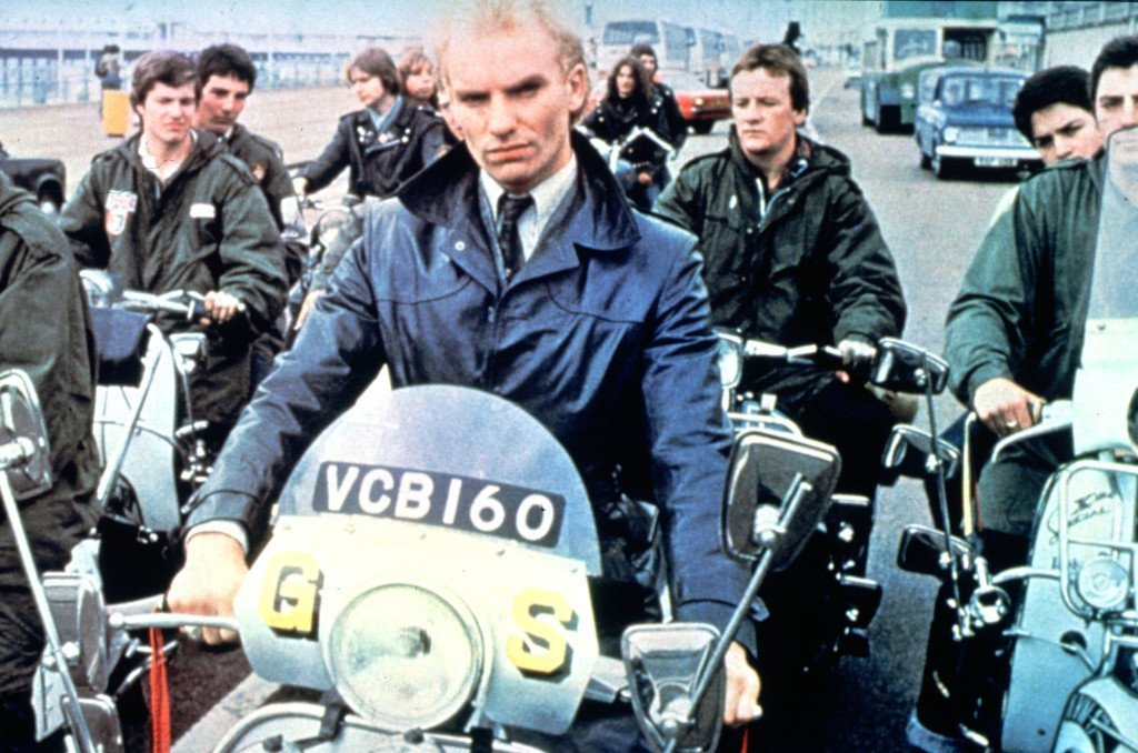 Sting as a mod in Quadrophenia