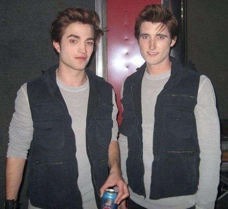 Robert Pattinson Double