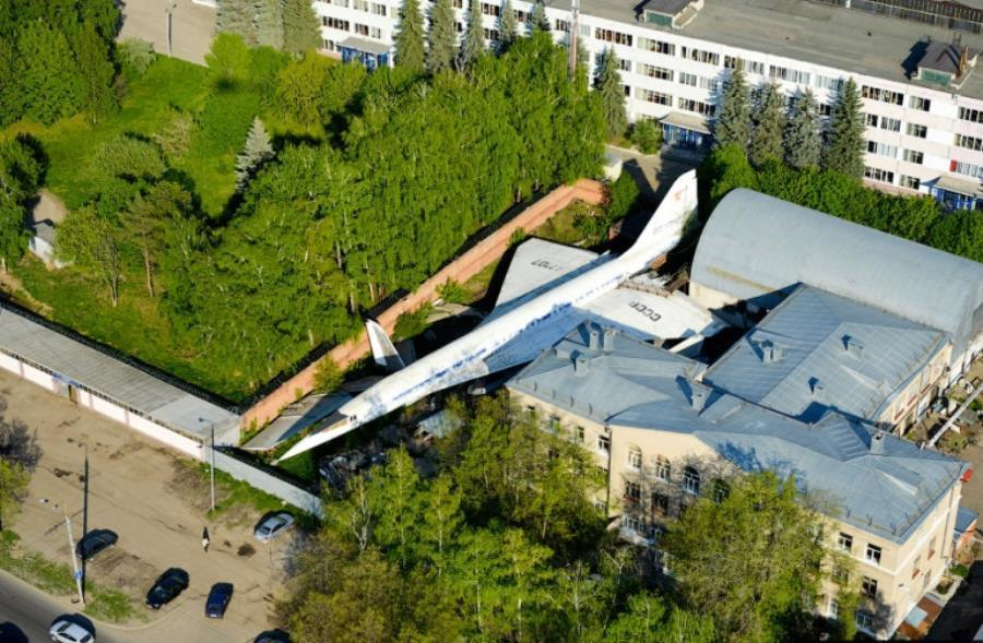 Abandoned Supersonic Plane Russia