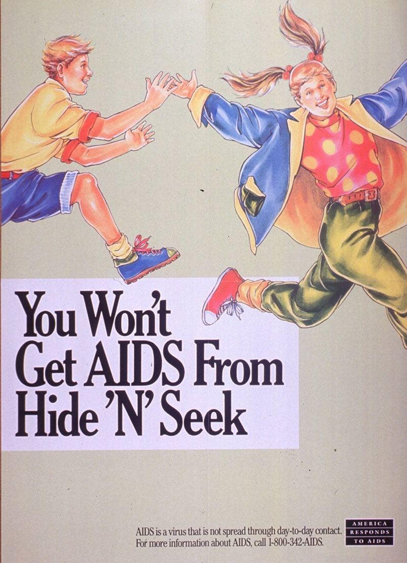 Vintage AIDS Poster