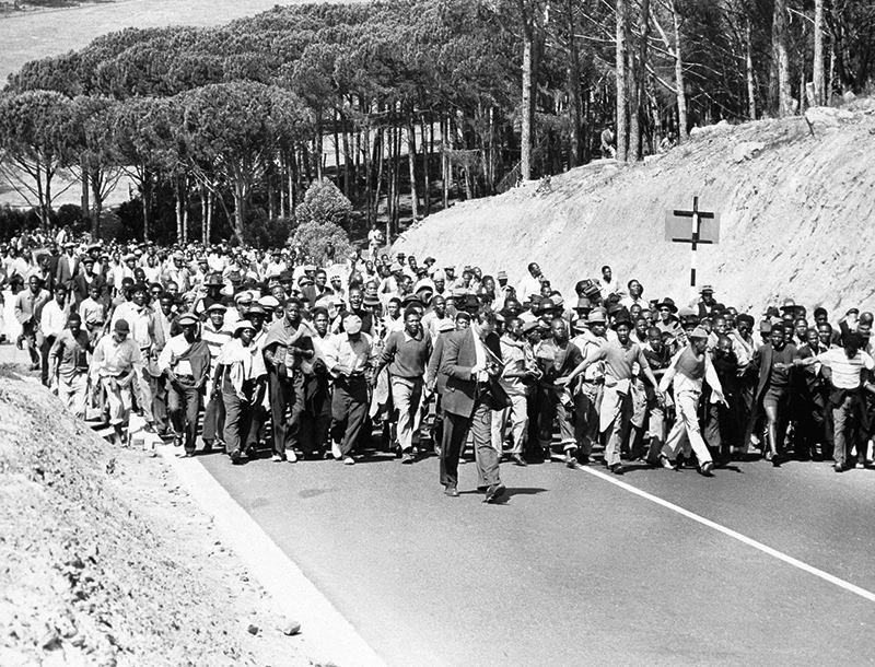 Apartheid March
