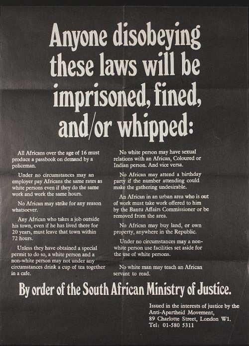 Apartheid Rules