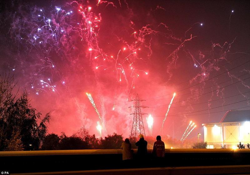 Autumn Celebrations Bonfire Day