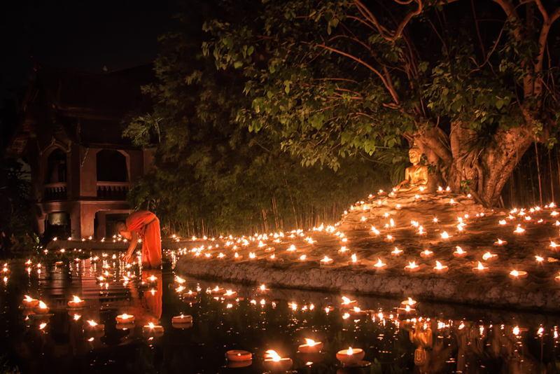 Autumn Celebrations Monk