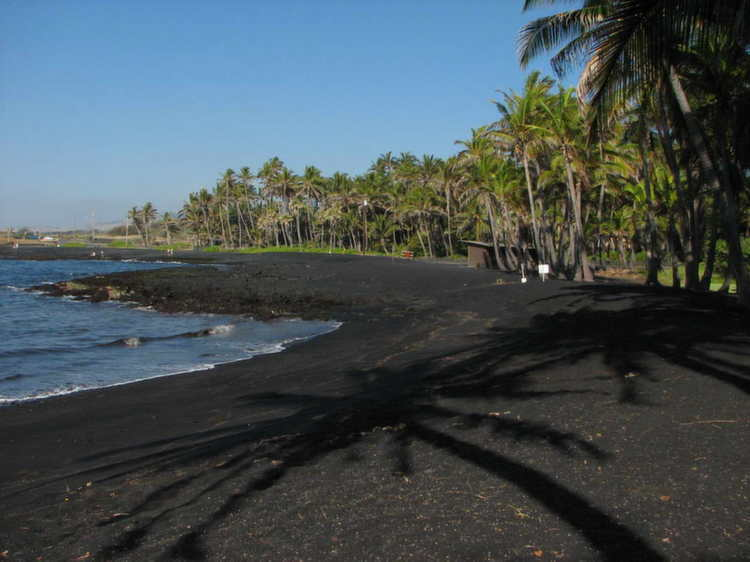 Weird Beaches Hawaii Black