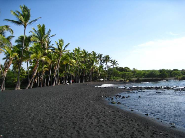 Weird Beaches Hawaii Punaluu