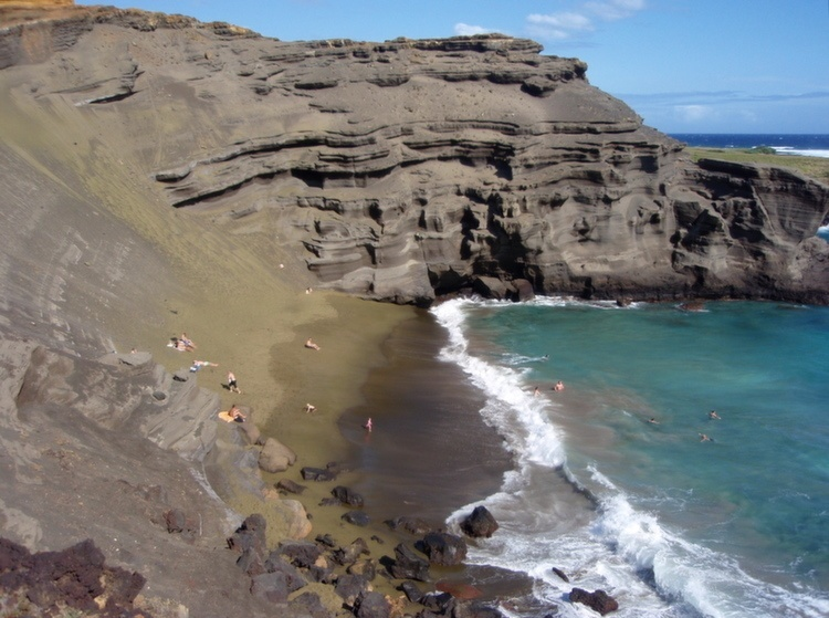 Weird Beaches Hawaii Terrain