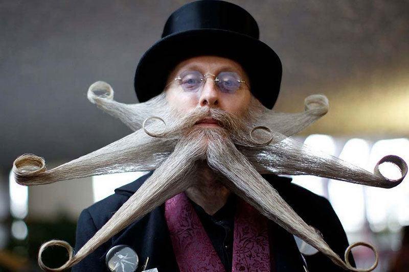 Bizarre Beard at Mustache Championships