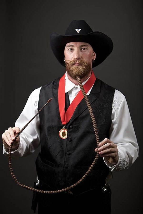 Long Beard at World Beard and Moustache Championships