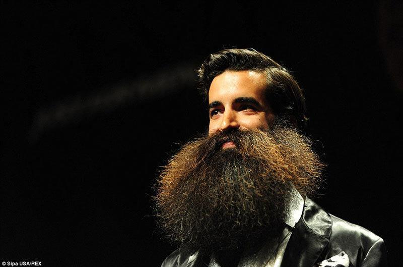 Winner Of The World Beard and Moustache Championships