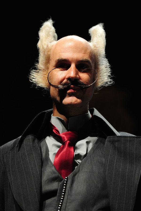 Zoolander-Inspired Facial Hair