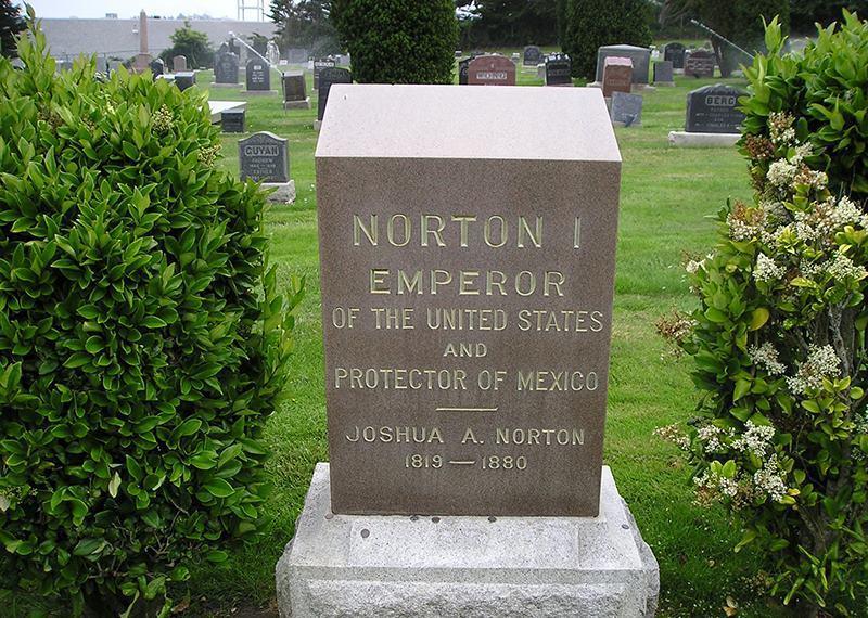 Joshua Abraham Norton Grave