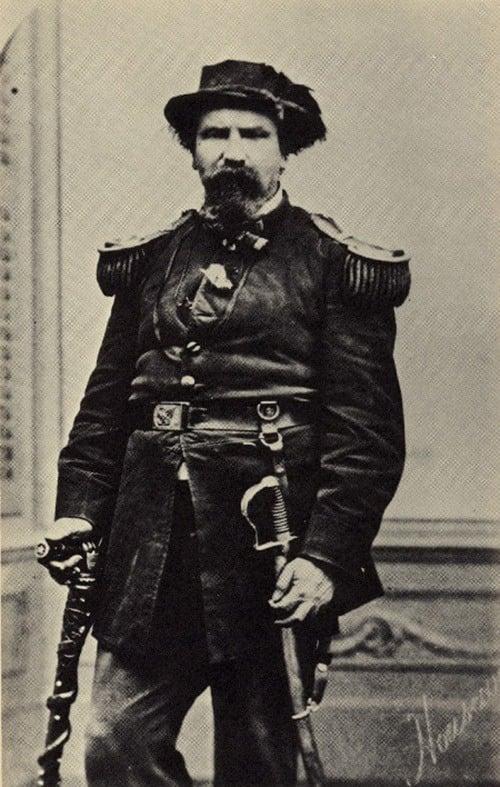 Emperor Norton In Uniform