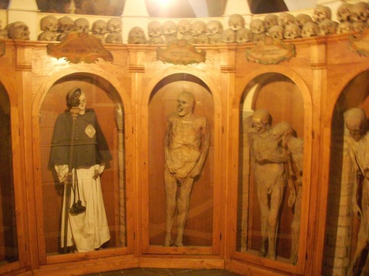 Weirdest Cemeteries Chiesa Mummies
