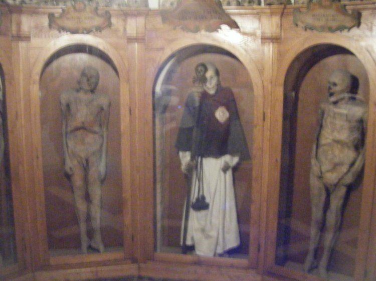 Weirdest Cemeteries Chiesa Mummy