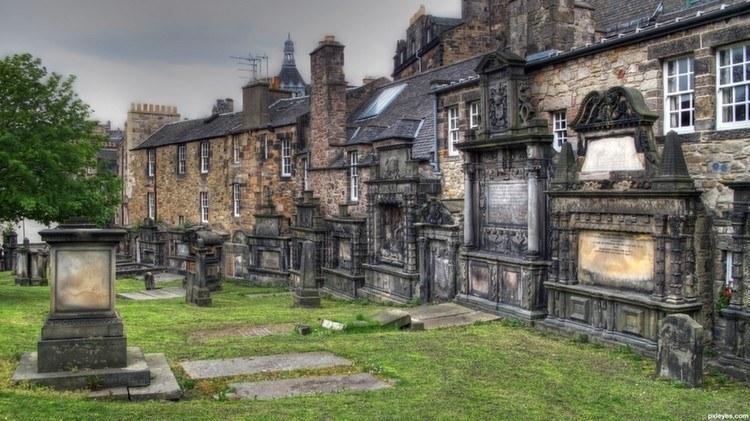 Weirdest Cemeteries Grey Friars