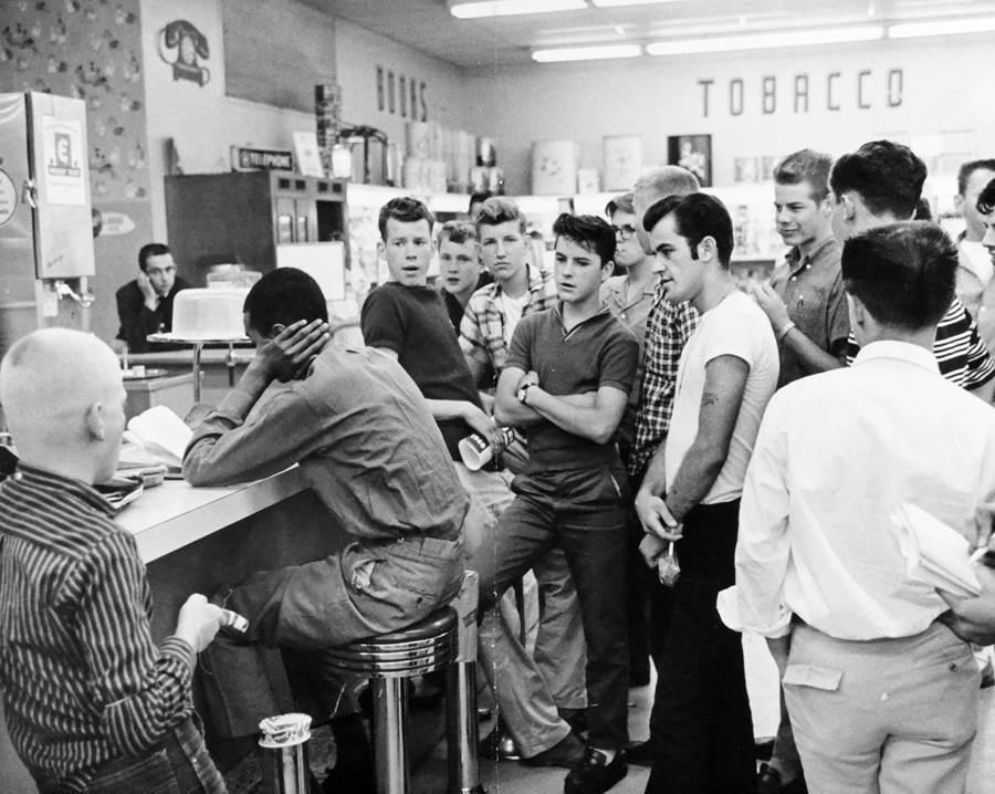 Civil Rights Sit In Arlington Virginia