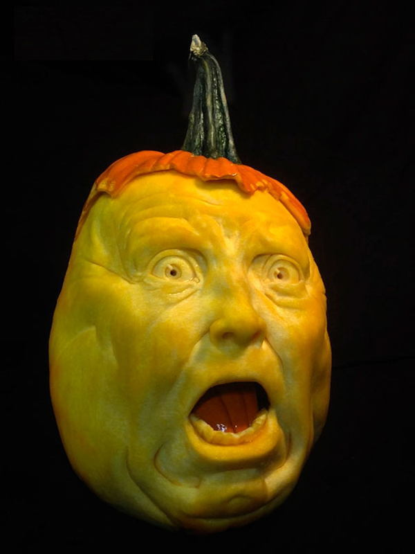 Creepy Pumpkin Carvings Gasp
