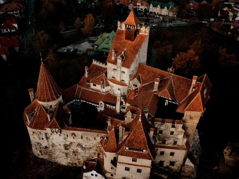 Dracula Castle Aerial