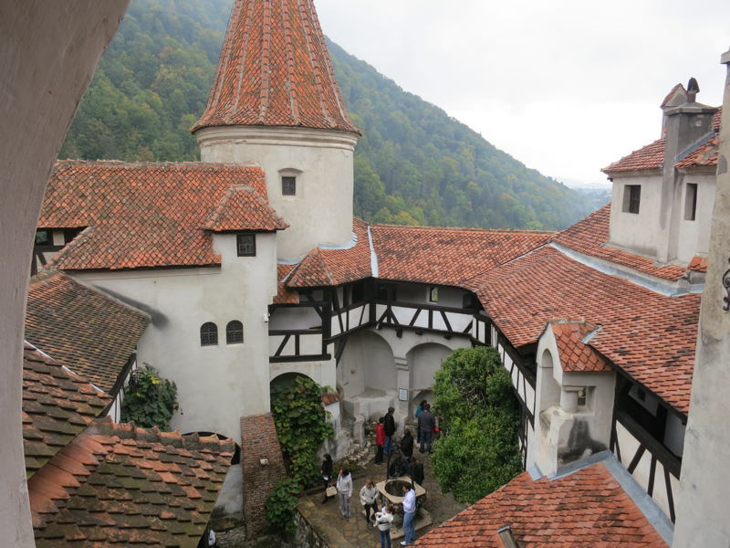 Dracula Castle Courtyard