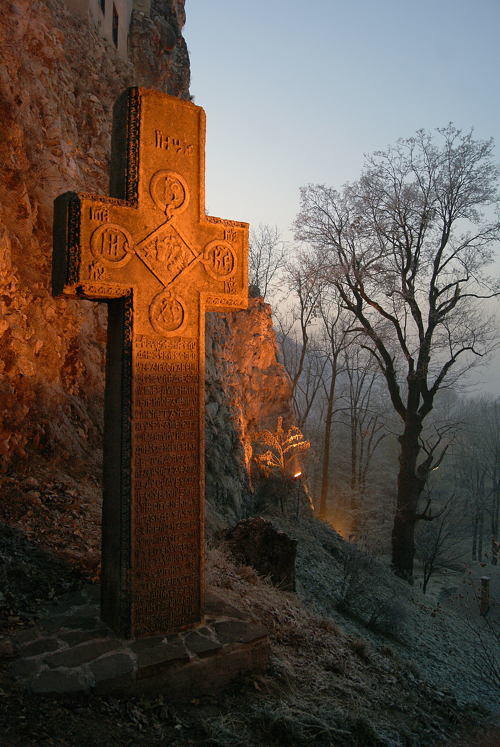 Dracula Castle Cross