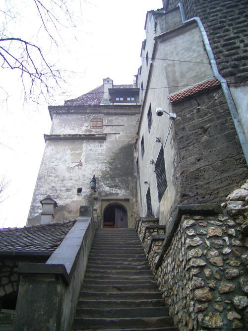 Entrance To Dracula Castle
