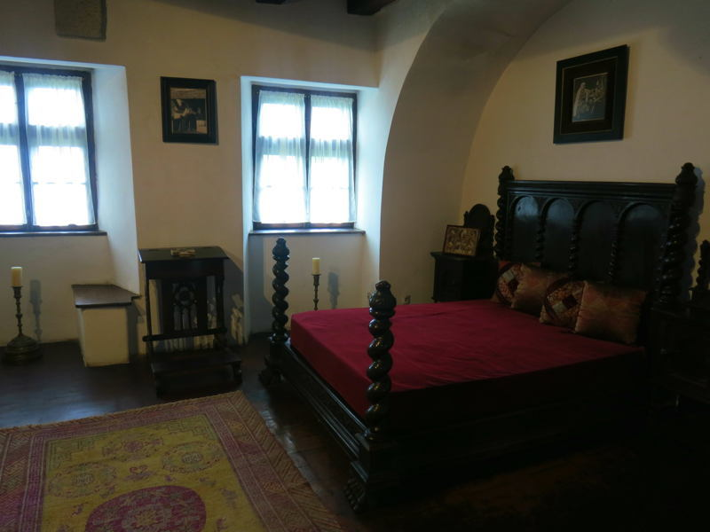 Dracula Castle Bedroom
