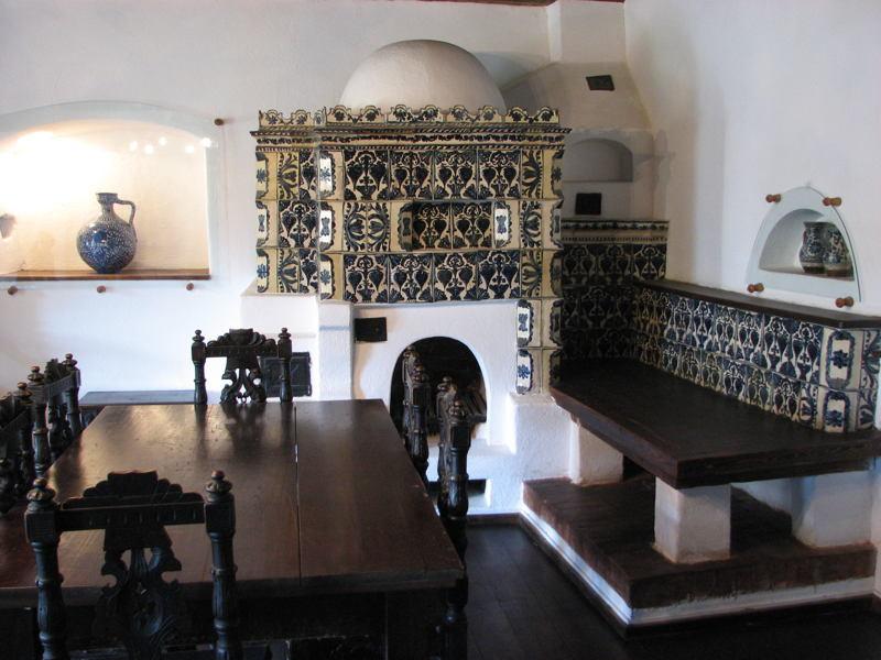 Dracula Castle Living Room