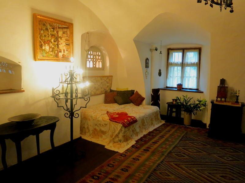 Dracula Castle Regina Bedroom