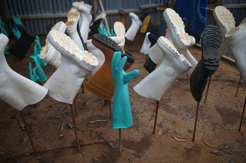 Ebola Prep Boots